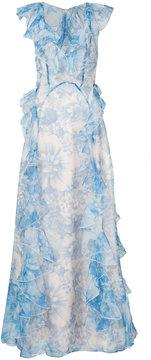 Alice McCall frill-trim maxi dress