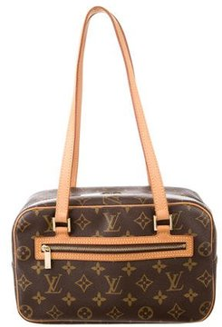 Louis Vuitton Monogram Cite MM - BROWN - STYLE