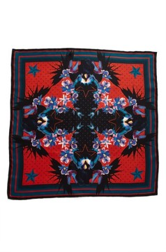 Women's Givenchy 'Ultra Paradise' Floral Silk Scarf