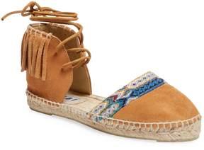 Manebi Women's Espadrille Leather Sandal
