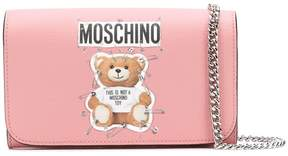 Moschino Toy Bear clutch bag