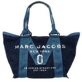 Marc Jacobs New Logo Small Tote. - DENIM - STYLE