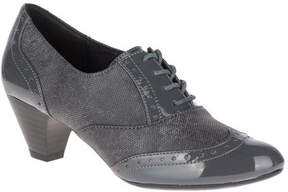 SoftStyle Women's Soft Style Gianna Heeled Wing-Tip Oxford