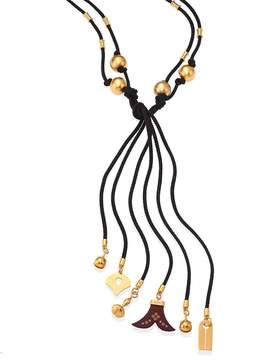 Chloé Women's Janis Beaded Tie Necklace