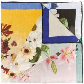 Faliero Sarti geometric floral print scarf