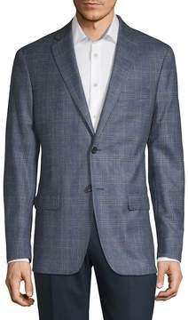 Lauren Ralph Lauren Men's Plaid Wool-Blend Suit Jacket