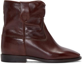 Isabel Marant Brown Cluster Boots