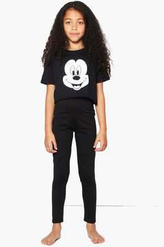 boohoo Girls Disney Mickey Tee Nightwear Set