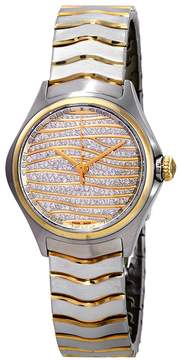 Ebel Wave Diamond Pave Dial Ladies Watch