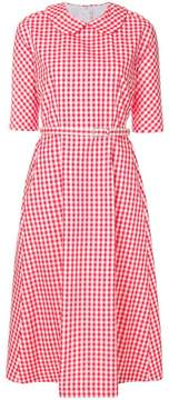 Comme des Garcons belted vichy dress