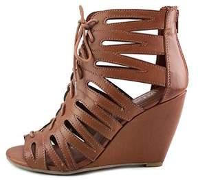 Mia Womens Issy Open Toe Casual Platform Sandals.