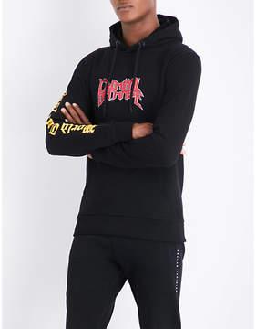 Criminal Damage Rock Tour cotton-jersey hoody