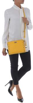 Michael Kors Studded Shoulder Bag - GIALLO - STYLE