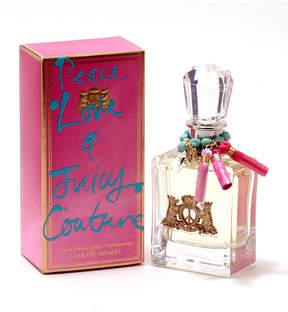 Juicy Couture Peace, Love & for Ladies Eau de Parfum Spray, 3.4 oz./ 100 mL