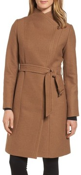Cole Haan Women's Belted Double Breasted Coat