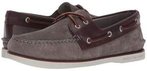 Sperry Gold A/O 2-Eye Nubuck Men's Slip on Shoes
