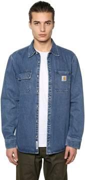Carhartt Salinac Stone Washed Cotton Denim Shirt