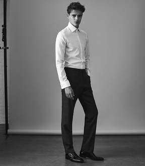 Reiss Farrow Double Cuff Slim Fit Shirt