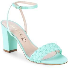 Aperlaï Women's Braided Heel Sandals
