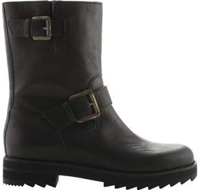 Jil Sander Navy Marburg Biker Boot (Women's)