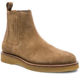 Saint Laurent Suede Chelsea Boots