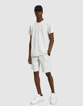 Reigning Champ Terry Cut-Off Sweatshort in Heather Ash