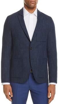 HUGO Shadow Check Slim Fit Sport Coat
