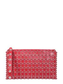 RED Valentino Puzzle Flower Clutch