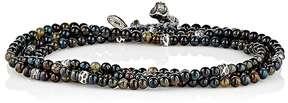 M. Cohen Men's Heraldry Wrap Bracelet