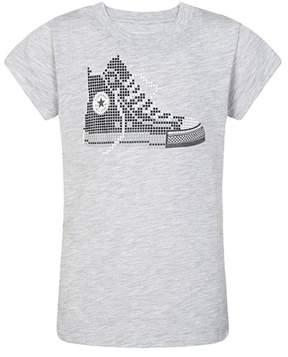 Converse Pixel Chuck Tee (Big Girls)