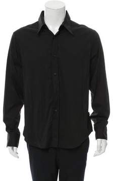 Just Cavalli Woven Button-Up Shirt