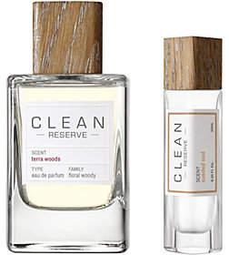 CLEAN Reserve Terra Woods EDP & Pen Spray Duo
