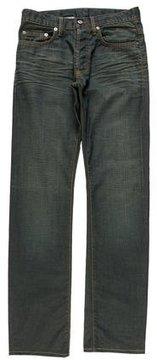 Christian Dior Wax-Coated Slim Jeans
