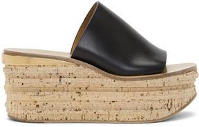 Chloé Black Camille Sandals