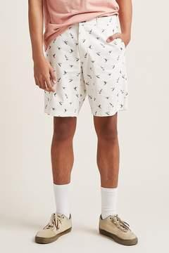 21men 21 MEN Hummingbird Print Woven Shorts