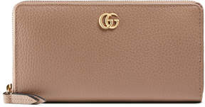 Gucci GG Marmont leather zip around wallet - PINK LEATHER - STYLE