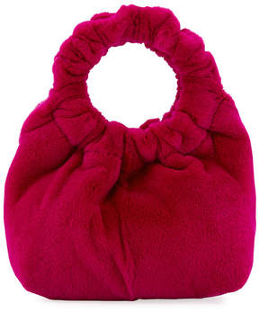The Row Red Small Double Circle Bag