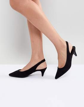 New Look Sling Back Cone Heeled Shoe