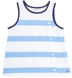 Nautica Girls' Bold Stripe Tank (8-16)
