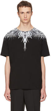 Marcelo Burlon County of Milan Black Eruek T-Shirt