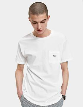 Obey Jumbled Tee in White