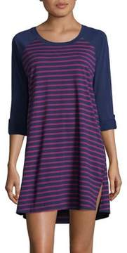 Karen Neuburger Stripe Sleepshirt