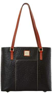 Dooney & Bourke Ostrich Small Lexington Bag - BLACK - STYLE