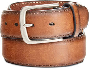 Levi's Men's Burnished-Edge Logo Belt