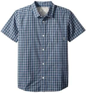 Quiksilver Sun Rythm Short Sleeve Top Boy's Short Sleeve Button Up