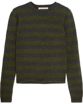 Vanessa Bruno Heta Striped Wool Sweater - Navy