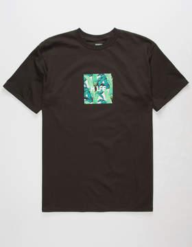 HUF Foliage Box Black Mens T-Shirt