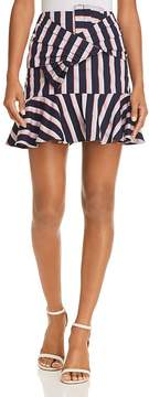 WAYF Sanders Striped Bow Skirt - 100% Exclusive