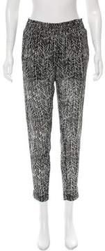 Enza Costa Printed Chiffon Pants