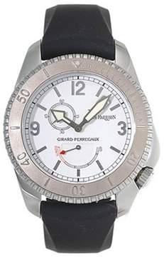 Girard Perregaux Seahawk II Stainless Steel Black Rubber Men's Watch
